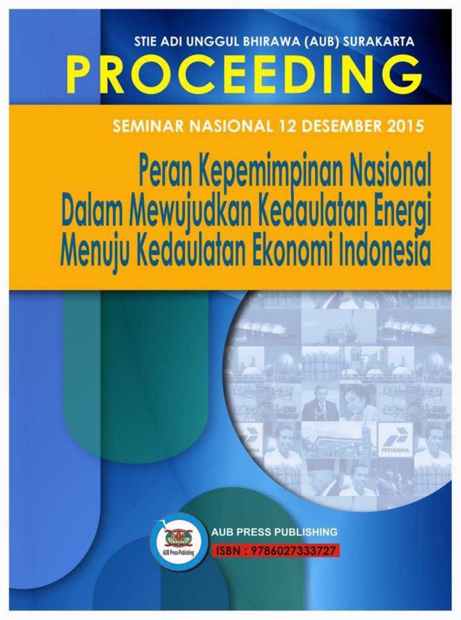 Proceding Nasional AUB Lengkap 2015